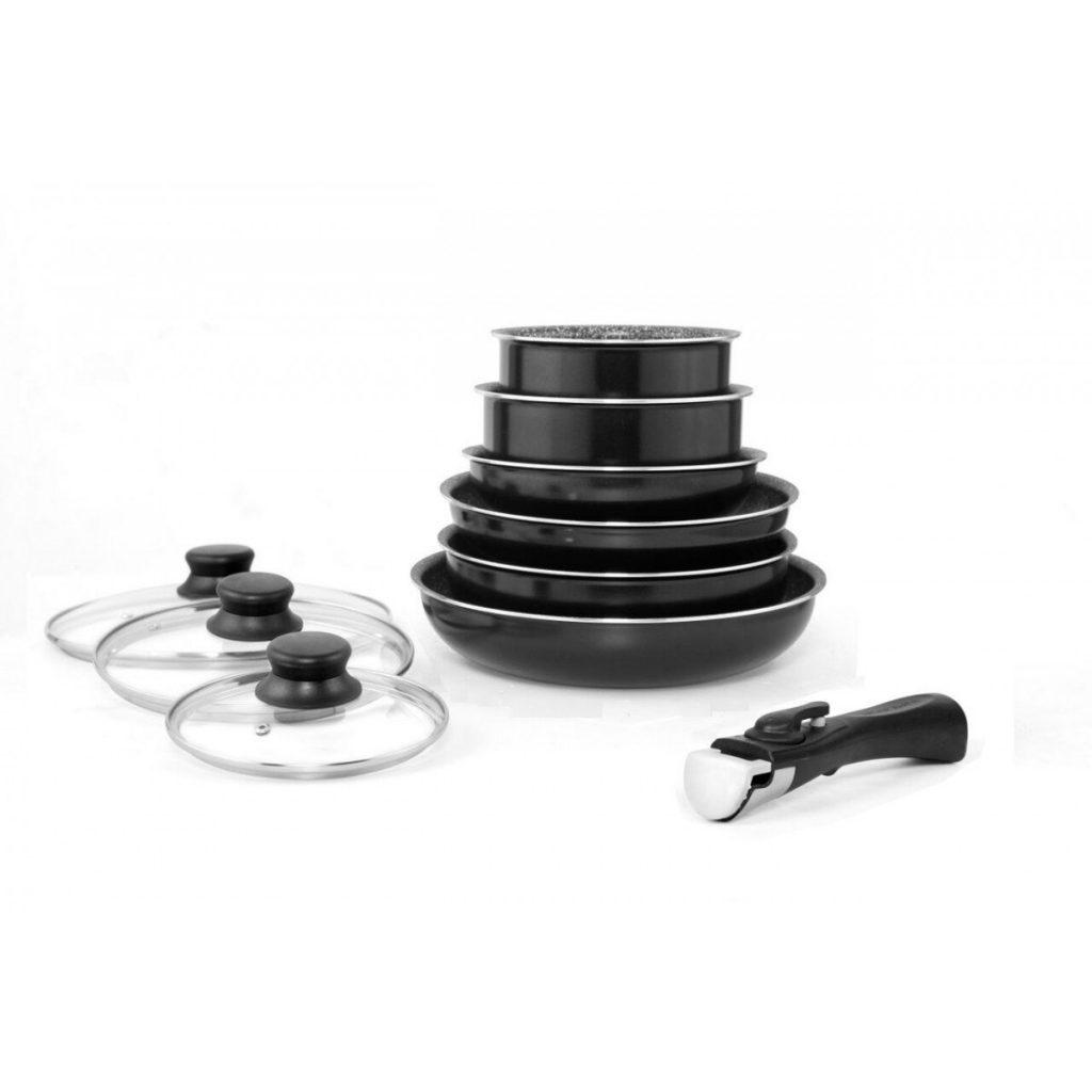 la meilleure batterie de cuisine en pierre comparatif. Black Bedroom Furniture Sets. Home Design Ideas